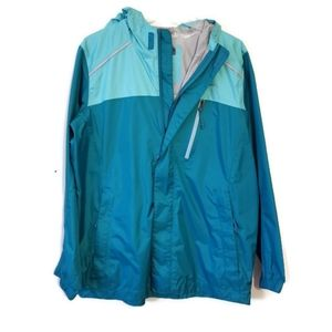 LL Bean Kids Windbreaker Rain Jacket 14